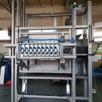 GMN Techmet- Regulowana klatka oszałamiania bydła z uchylną podłogą